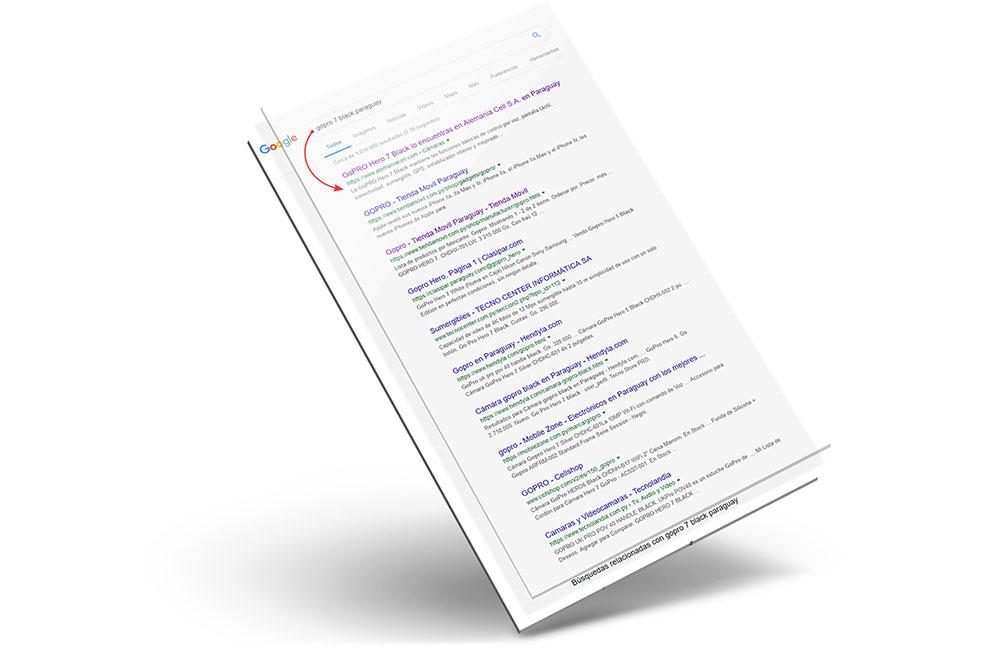 Posicionamiento web SEO OnPage