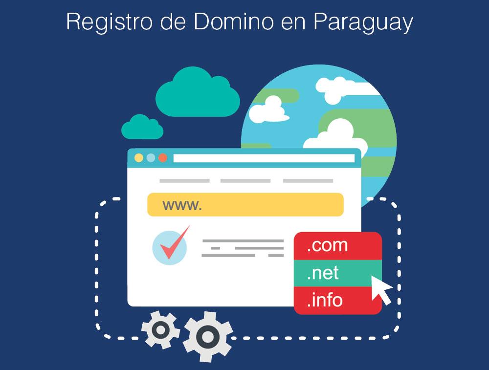 Registro de Domino en Paraguay